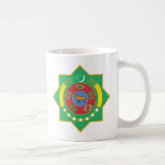 Turkmenistan's Coat of Arms Mug