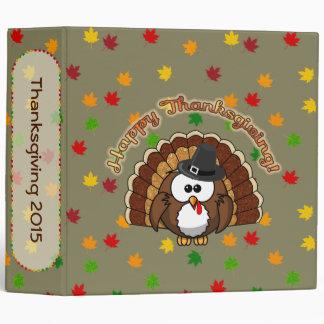turkowl Thanksgiving binder