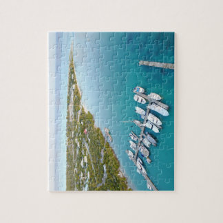 Turks and Caicos from above Jigsaw Puzzle