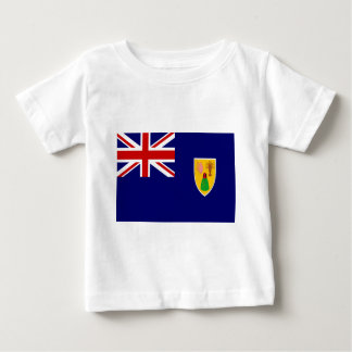 Turks And Caicos Islands Flag Baby T-Shirt