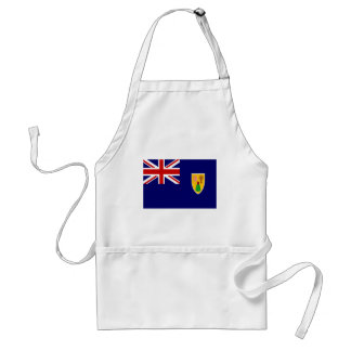 Turks And Caicos Islands Flag Standard Apron