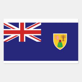 Turks and Caicos Islands Flag Sticker
