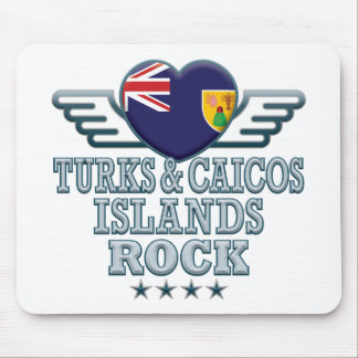 Turks and Caicos Islands Rock v2 Mouse Pad