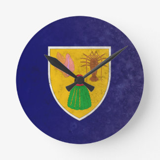 Turks and Caicos Islands Round Clock
