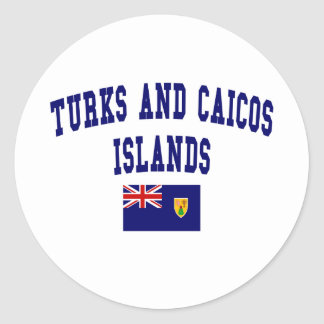 Turks and Caicos Islands Style Stickers