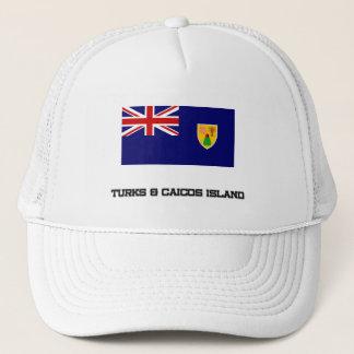 Turks & Caicos Island Flag Trucker Hat