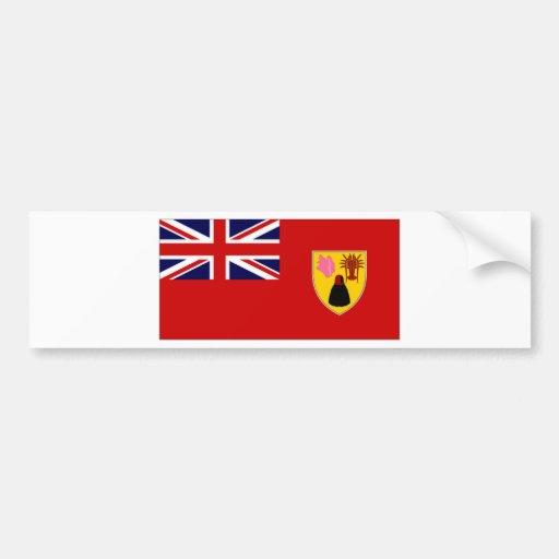 Turks Caicos Islands Civil Ensign Bumper Sticker