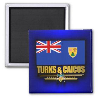 Turks & Caicos Pride Square Magnet