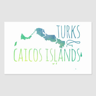 Turks & Caicos Sticker