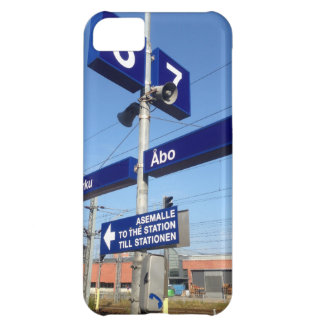 Turku Station in Finland iPhone 5C Cover