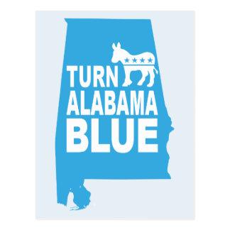 Turn Alabama Blue Postcard | Vote State Democrats