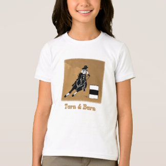 Turn and Burn Barrel Racer T-Shirt