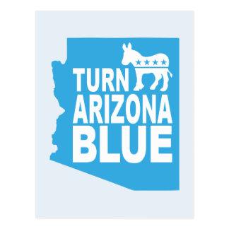 Turn Arizona Blue Postcard | Vote State Democrat