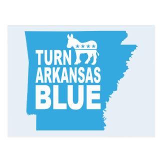 Turn Arkansas Blue Postcard | Vote State Democrat