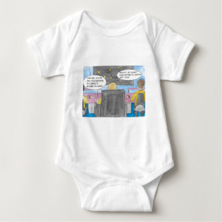 Turn Around Mission Baby Bodysuit