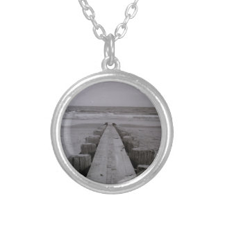 Turn Back Silver Plated Necklace
