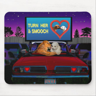 TURN HER AND SMOOCH MOUSE PAD