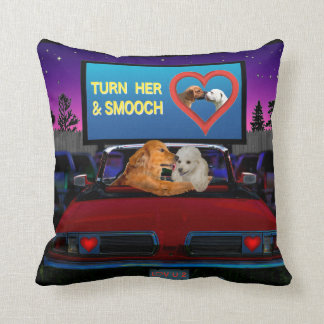 TURN HER AND SMOOCH THROW PILLOW
