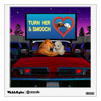 TURN HER AND SMOOCH WALL STICKER