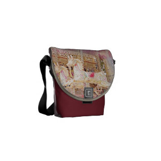 Turn horse-gear messenger bags