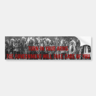 Turn in your Arms - Bumper Sticker