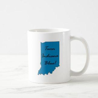 Turn Indiana Blue Coffee Mug
