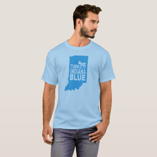 Turn Indiana Blue T-Shirt | Progressive State