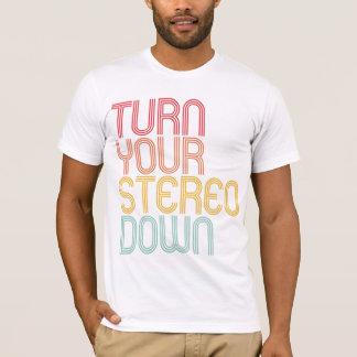 Turn It Down Tee