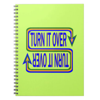 Turn it over notebooks