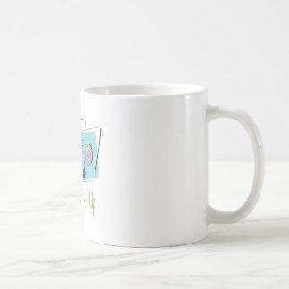 Turn It Up Basic White Mug