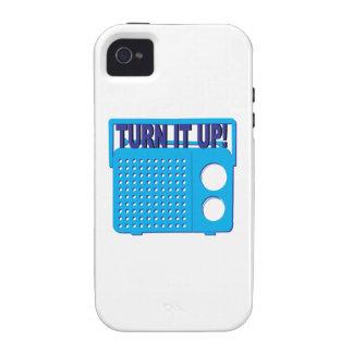 Turn it Up Case-Mate iPhone 4 Case