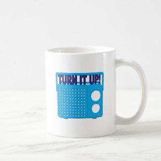 Turn it Up Coffee Mug