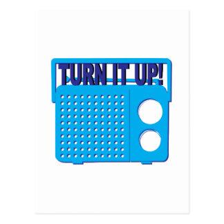 Turn it Up Postcards