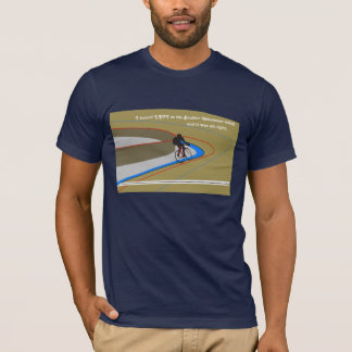 Turn Left at the Boulder Velodrome T-Shirt