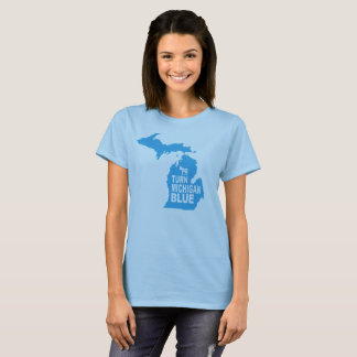 Turn Michigan Blue Women's T-Shirt | Progressive