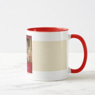turn mill, Merry-Go-Round Mug