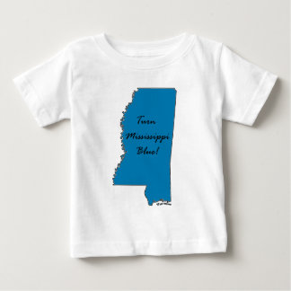 Turn Mississippi Blue! Democratic Pride! Baby T-Shirt