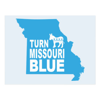 Turn Missouri Blue Postcard | Vote Progressive