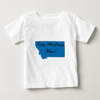 Turn Montana Blue! Democratic Pride! Baby T-Shirt
