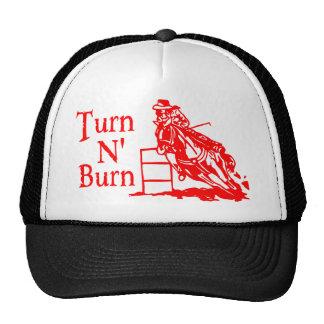 TURN N BURN TRUCKER HAT