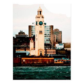Turn of the clock postcard