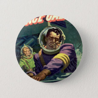 Turn Off the Water! 2 Inch Round Button