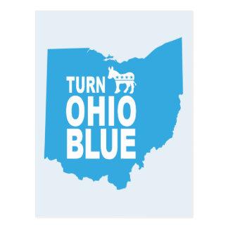 Turn Ohio Blue Postcard | Vote State Progressive
