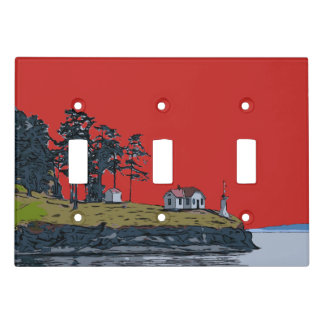 TURN POINT - Stuart Island Light Switch Cover
