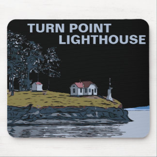 TURN POINT - Stuart Island Mouse Pad
