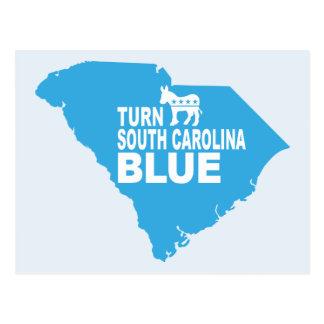 Turn South Carolina Blue Postcard | Vote Democrat