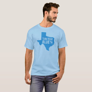 Turn Texas Blue T-Shirt | Repaint America