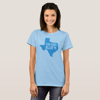 Turn Texas Blue Women's T-Shirt | Repaint America