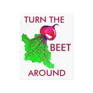 Turn The Beet Around Wall Art