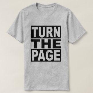 Turn the Page T-Shirt